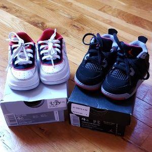 Nike Force 1 / Jordan Retro 4 Sneakers